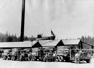 Blagen Lumber Trucks small