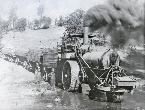 steamtractorinwater1
