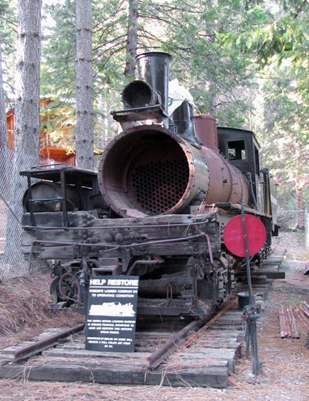 Shay No.4 Ready for Restoration