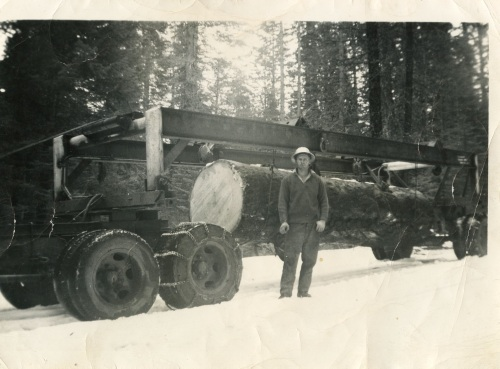 1951 Trial run for Davis Lumber Co.