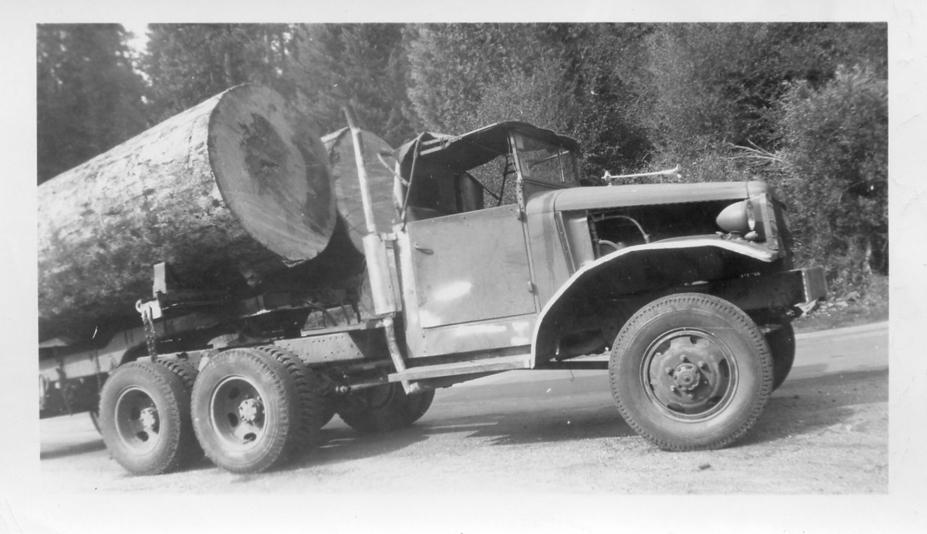 Midified truck Yosemite 1952
