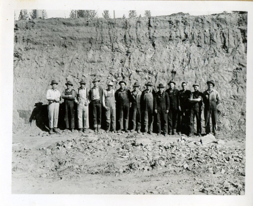 Workers at Sandy Gulch