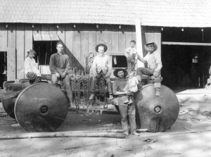 Raggio Mill Blacksmith shop 1903