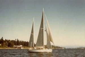 Blagen Boat 1974 off Sauselito