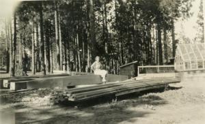 Blagen lumber for boat