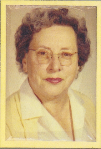 Miss Fischer School Photo